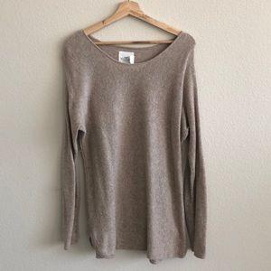 EUC H&M Tunic Tan Sweater SZ Large